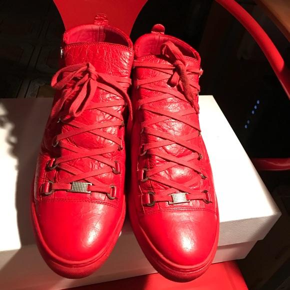 Balenciaga Shoes | Red Balenciagas